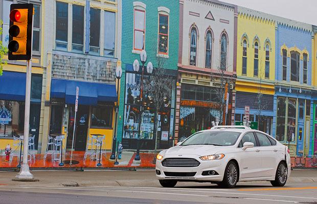 Ford autonomous Test